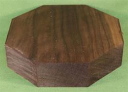 "Bowl #390 - Solid Black Walnut Bowl Blank ~ 7 1/2"" x 2"" ~ $17.99"