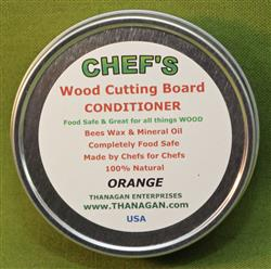 CHEF'S Wood Conditioner, Orange, 4 ounces - Only $7.99