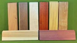 "Exotic Wood Craft Pack - 24 Boards 3"" x 12"" x 3/8""  #915  $69.99"
