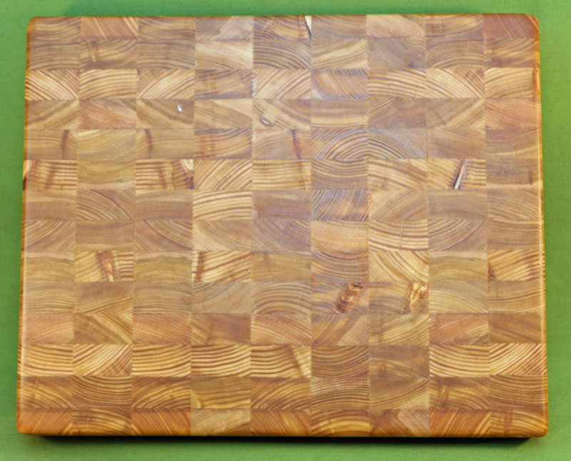 Larch Cutting Board Thick