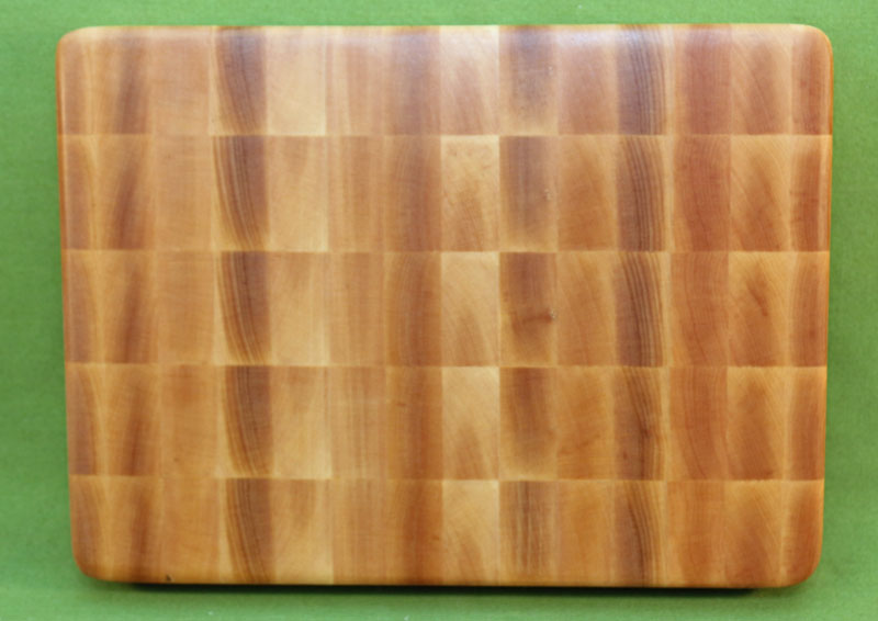 Board 951 Yellow Birch End Grain Premium Cutting 8 3 4