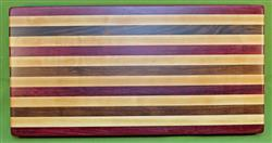 "Board #956 Exotic Hardwood Edge Grain Cutting Board 22 1/4"" x 11 1/2"" x 1 1/2"" - $84.99"