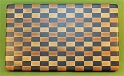"Board #961 Checkerboard Hardwood End Grain Cutting Board 20 1/2"" x 12 1/4"" x 1 1/2"" - $99.99"