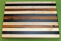 "Board #982 Exotic Hardwood Cutting Board 15"" x 11 1/2"" x 1 3/8"" - $59.99"