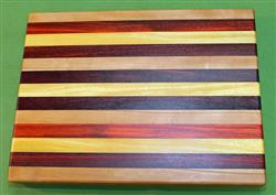 "Board #984 Exotic Hardwood Cutting Board 15"" x 11 1/2"" x 1 3/8"" - $59.99"