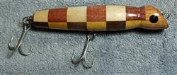 "Fishing Lure - 6 1/2"" - Checkerboard - Only $21.99 - Lure #38"